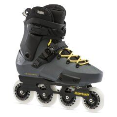 Ролики Rollerblade Twister Edge Anthracite Yellow 2021