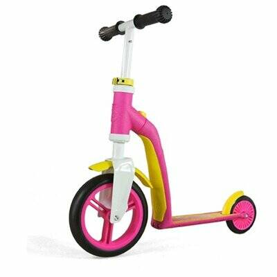 Самокат Scoot and Ride Highwaybaby, розово-желтый