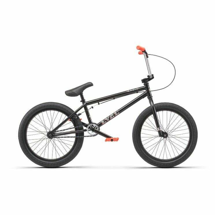 Велосипед Radio BMX EVOL 20.3 matt black 2019