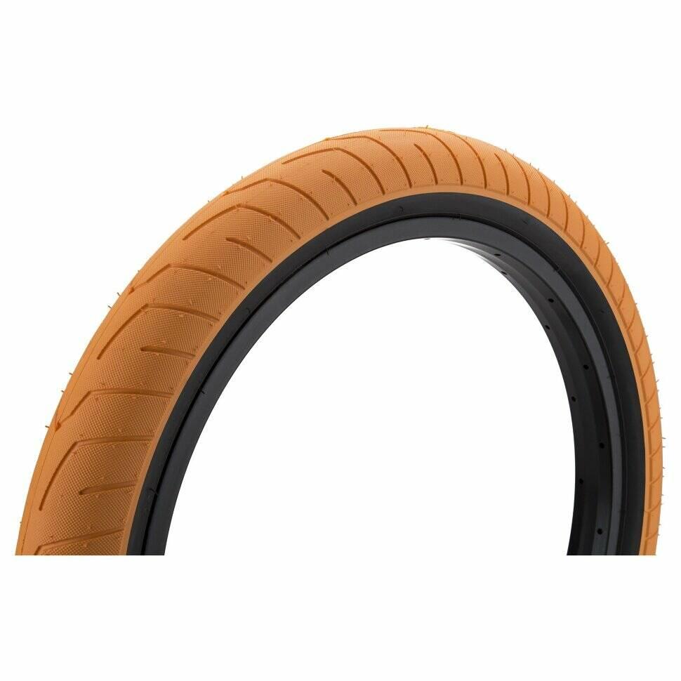 kink Покрышка KINK BMX Sever 20х2.4, оранжевая с черными боками 4263931