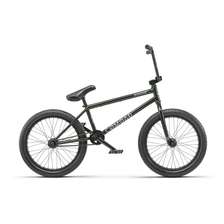 Велосипед Radio BMX COMRAD 21.0 black/green flake 2019