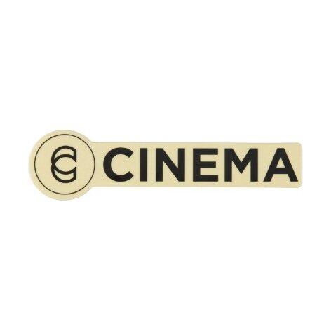 cinema Наклейка Cinema черная 8372551