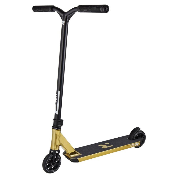 Трюковый самокат Root Industries Type R Pro Scooter Gold Rush