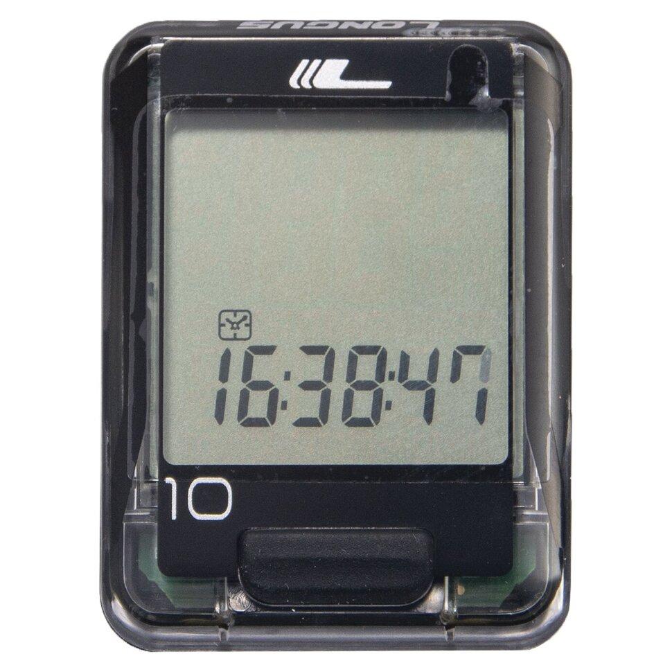 longus Велокомпьютер Longus BS-10 (Черный) 6862143