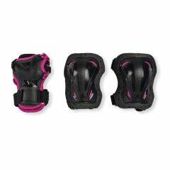 Защита Rollerblade Skate Gear Junior 3 pack black/pink 2020