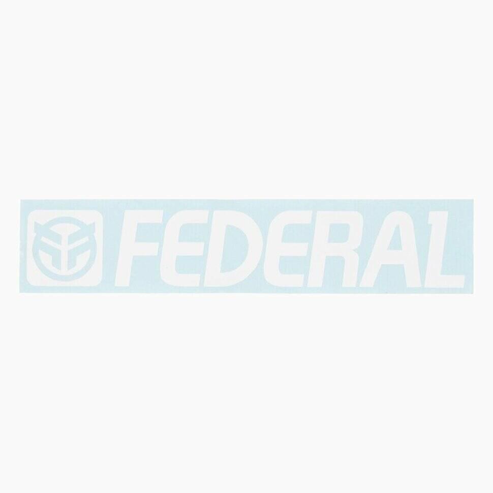 federal Наклейка Federal 170mm, Белый 3607691
