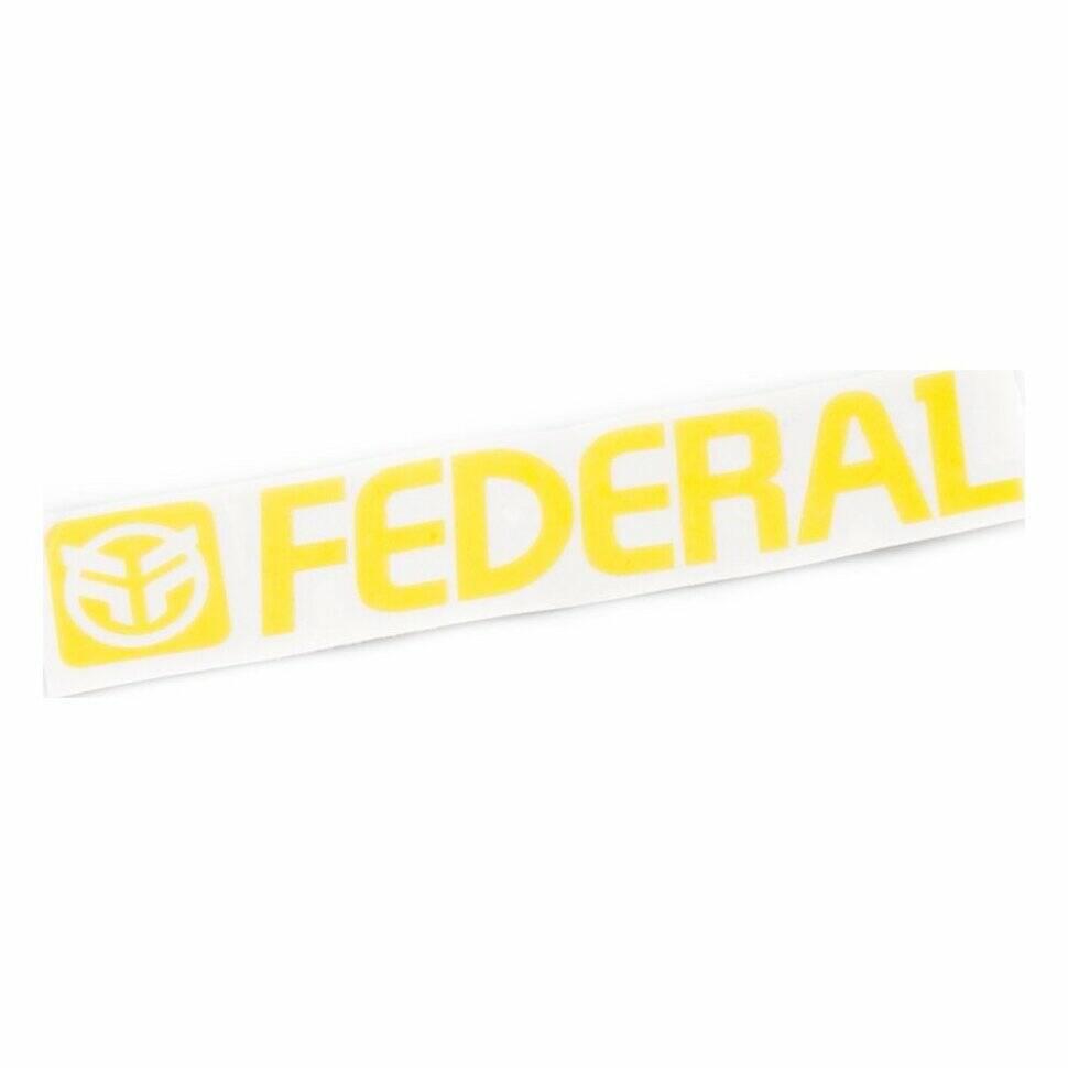 federal Наклейка Federal 170mm, Желтый 2988161