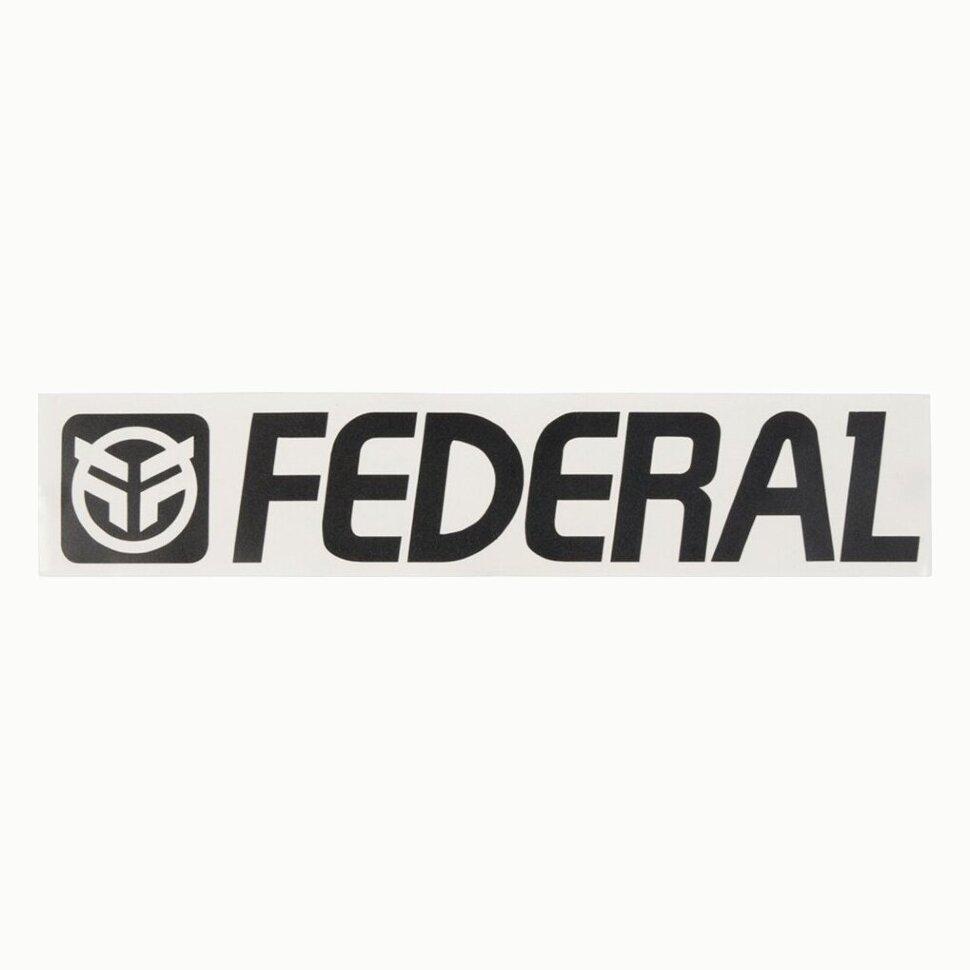 federal Наклейка Federal 170mm, Черный 7373701