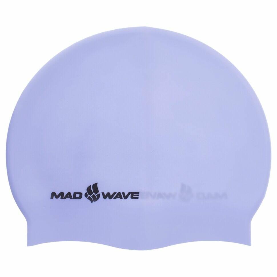 madwave Шапочка для плавания MadWave PASTEL M053504, голубая 6780421
