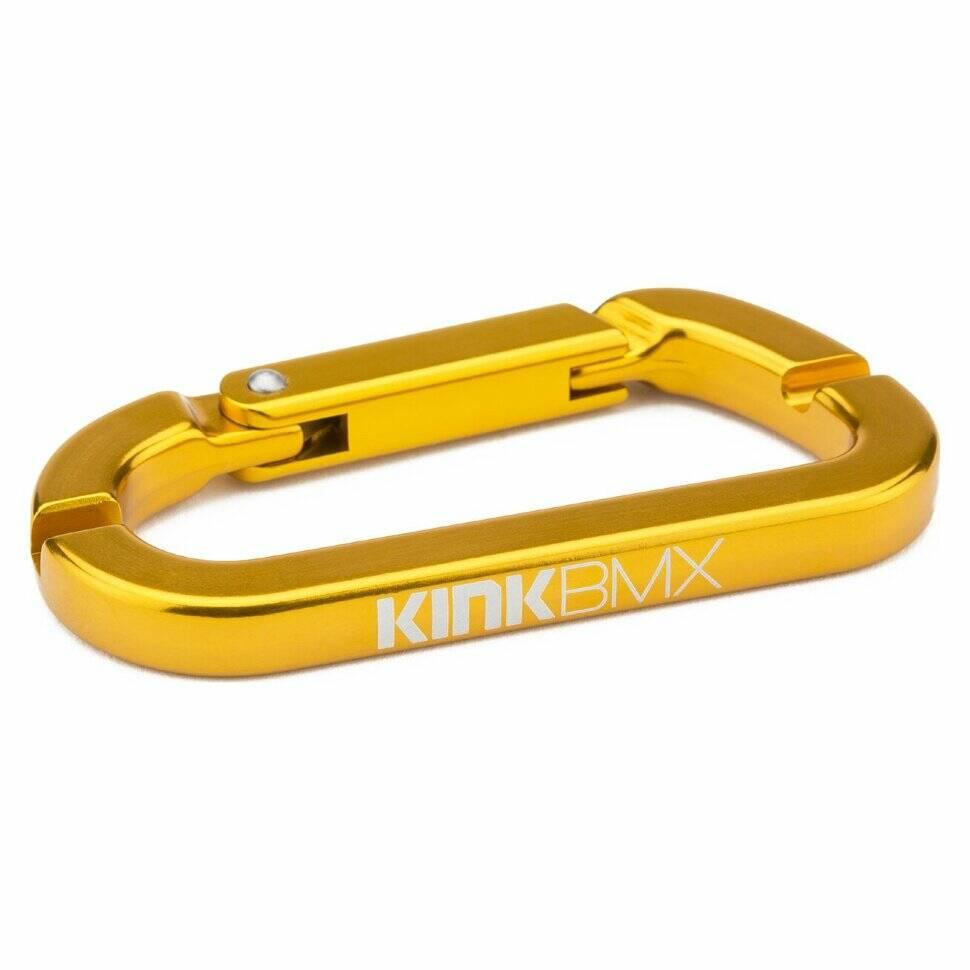 kink Карабин KINK спицной ключ, золотистый 8051621