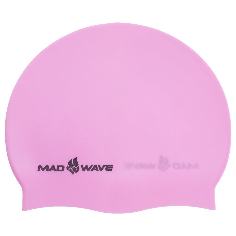 madwave Шапочка для плавания MadWave PASTEL M053504, розовая 6008251